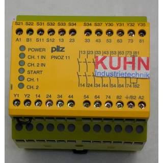 PNOZ 11  Sicherheitsschaltgerät