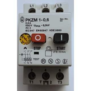 PKZM  1-0,6    Motorschutzschalter