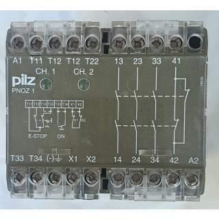 PNOZ1   Pilz 110VAC