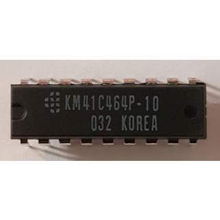 KM41C464P-10