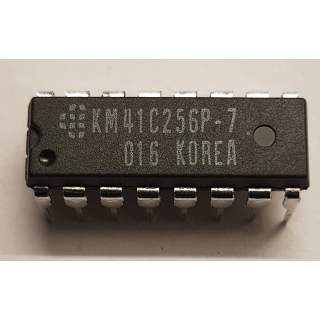 KM41C256P-7