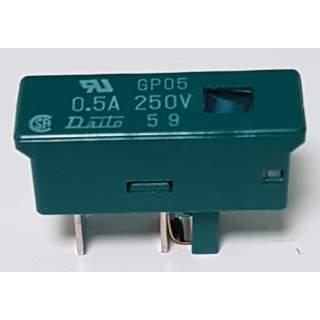 Sicherung  0,5A 250V GP05
