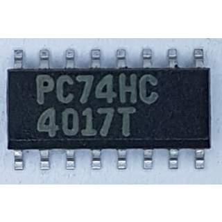 PC74HC4017T
