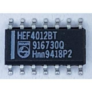 HEF4012BT