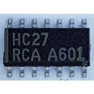 74HC27D