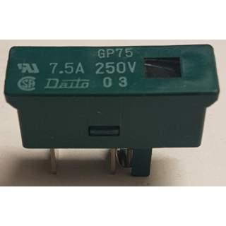 Sicherung  7,5A 250V  GP75