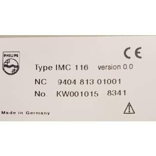 IMC116 Philips P8 Eingangsbaugruppe