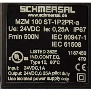 MZM 100 ST-1P2PR-a  Sicherheitszuhaltungen