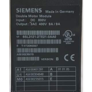6SL3121-2TE21-0AA0  Double Motor Module