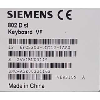 6FC5303-0DT12-1AA0  Tastatur 802D SL