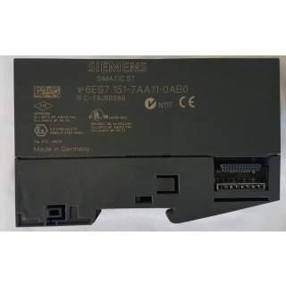 6ES7151-7AA11-0AB0    IM151-7 CPU