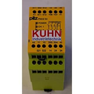 PNOZ X4 24VDC  Sicherheitsschaltgerät