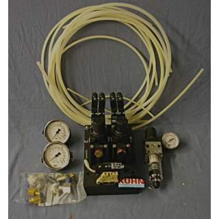 Pneumatik Anbausatz für GAMET Hohlspannzylinder
