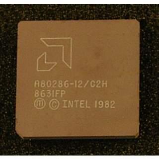 A80286-12   Intel Microprozessor